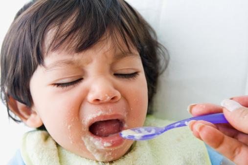 refu de manger bebe